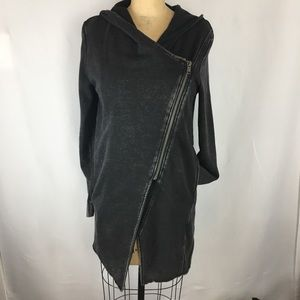 H&M asymmetrical zip sweater